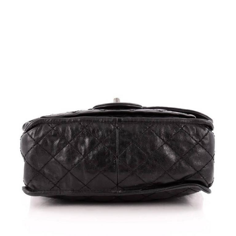 64c4a06e1723 Women s Chanel Paris-Edinburgh Square Flap Bag Quilted Aged Calfskin For  Sale