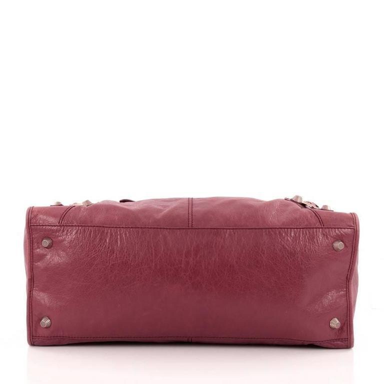 Balenciaga Work Giant Studs Handbag Leather at 1stdibs