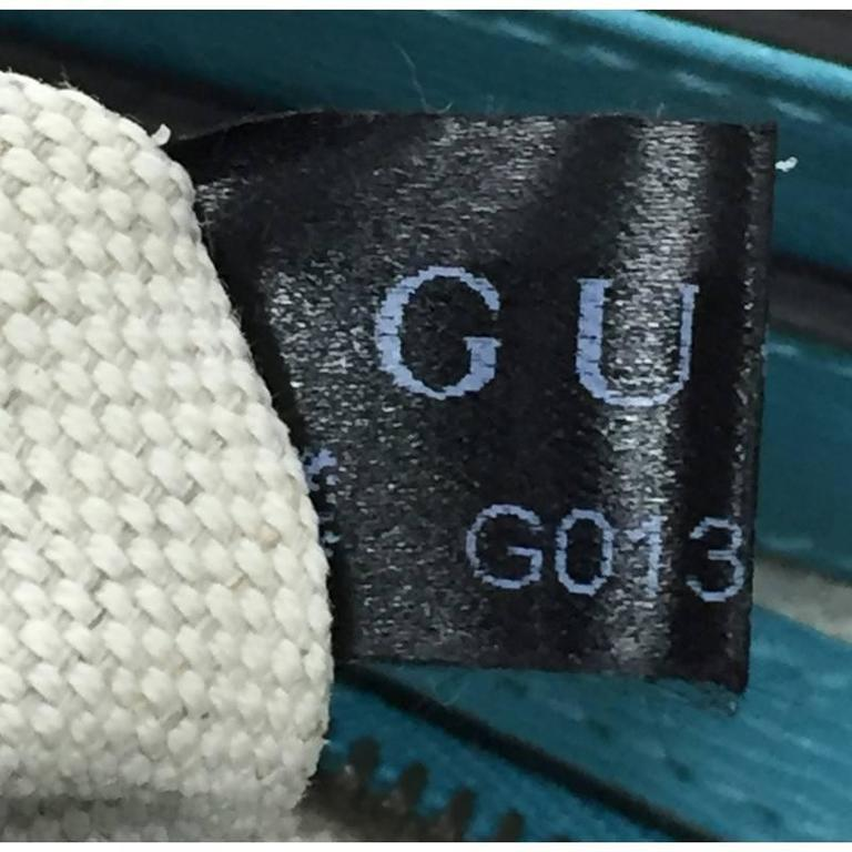 87cfbf20c19b11 Gucci Bright Bit Convertible Tote Leather Medium For Sale 2