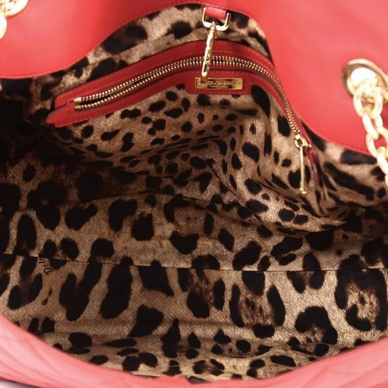 Dolce   Gabbana Miss Kate Shoulder Bag Quilted Vitello Soft Large For Sale 1 72f3c022493f9