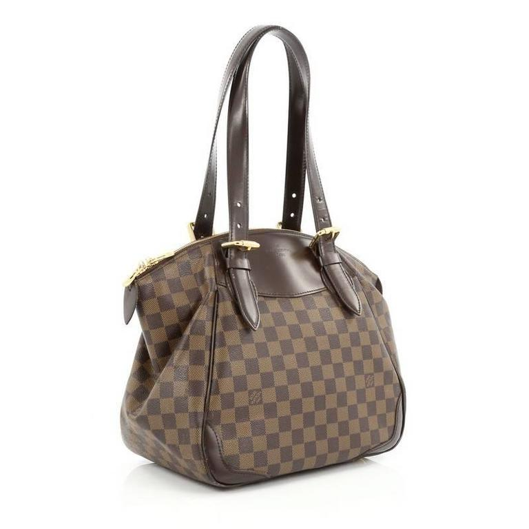 Louis Vuitton Verona Handbag Damier Mm At 1stdibs
