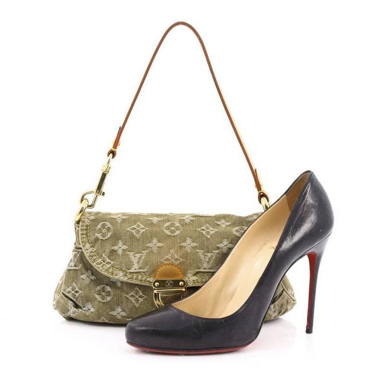 f154befb7031 Louis Vuitton Pleaty Handbag Denim Mini at 1stdibs