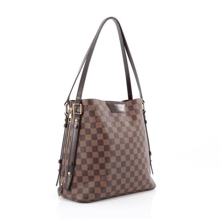 79d8ecb5445f24 Gray Louis Vuitton Cabas Rivington Damier For Sale