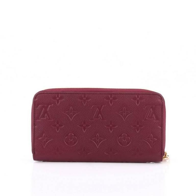 c31ae408ad10 Louis Vuitton Zippy Wallet Monogram Empreinte Leather at 1stdibs