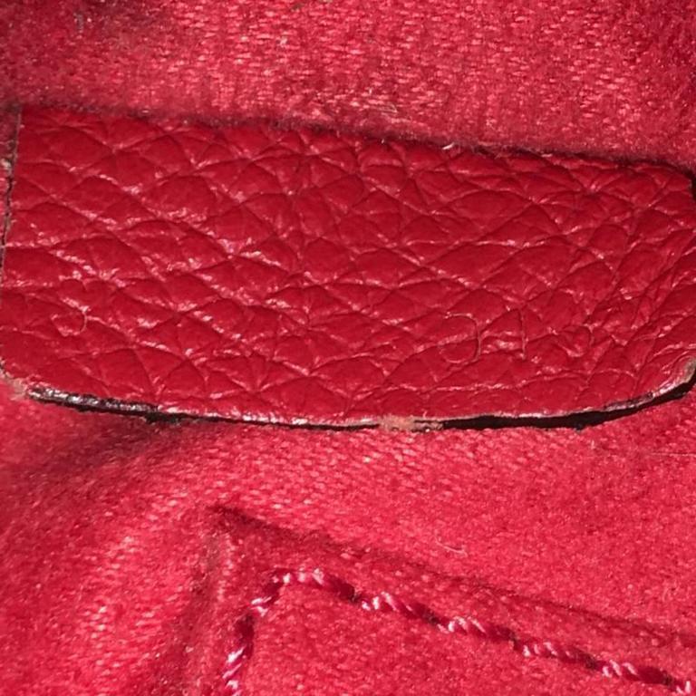 Celine Luggage Handbag Grainy Leather Nano 7