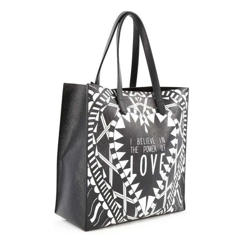 1bc1f3e38b Givenchy Power of Love Tote Printed Leather Large at 1stdibs