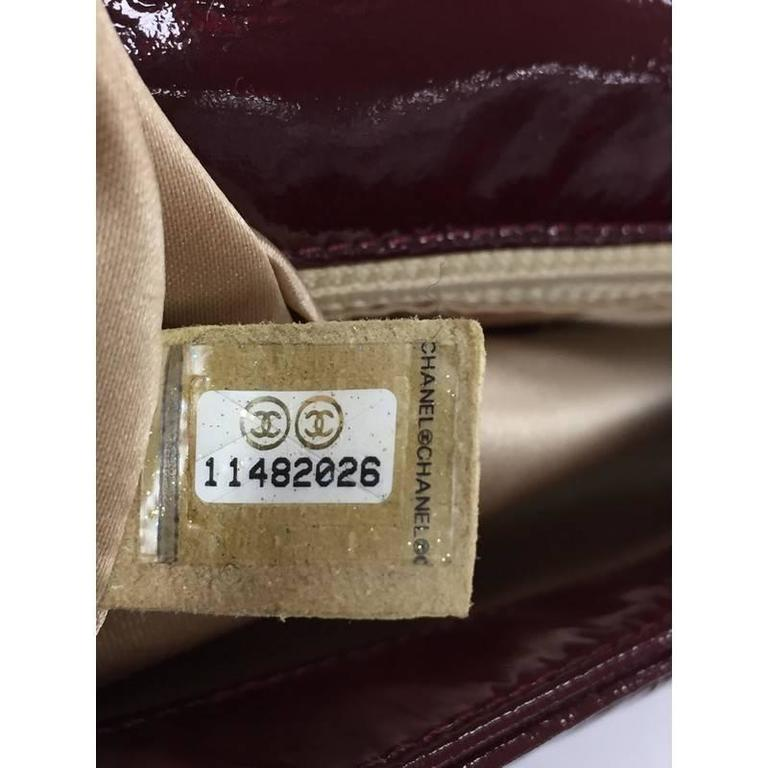 800b10a1b2bc Chanel Rock and Chain Flap Bag Patent Vinyl Medium For Sale 2