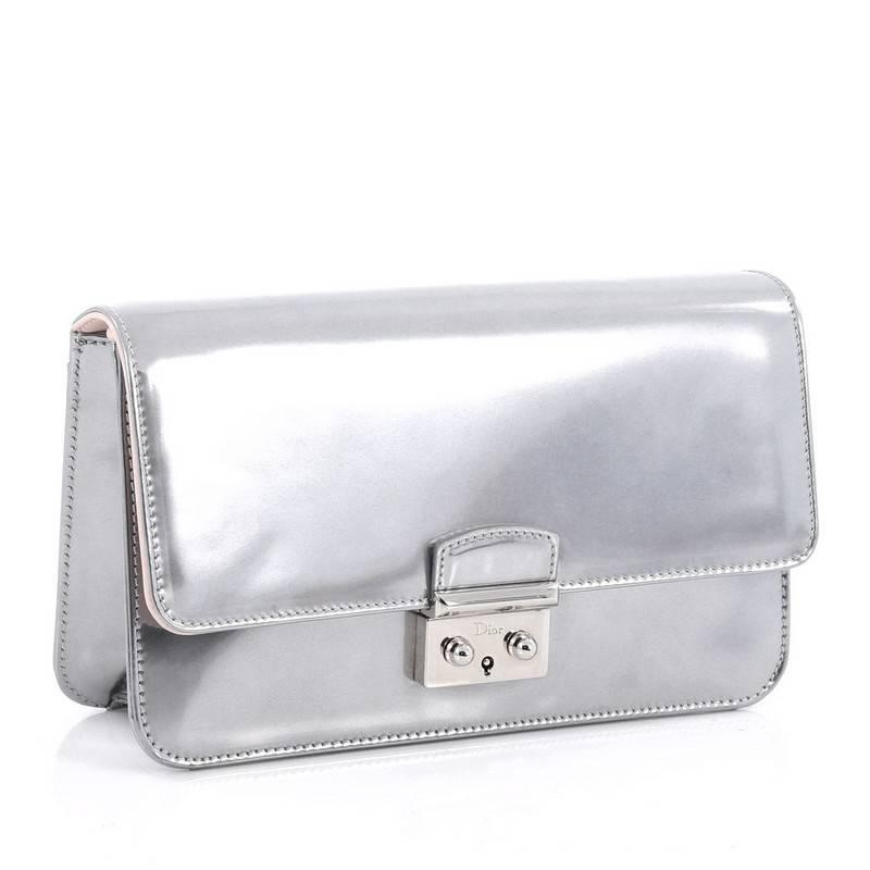 730840b74d Christian Dior Miss Dior Promenade Pouch Patent Large at 1stdibs