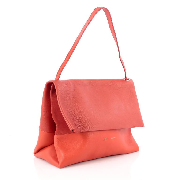 Celine All Soft Tote Leather 3