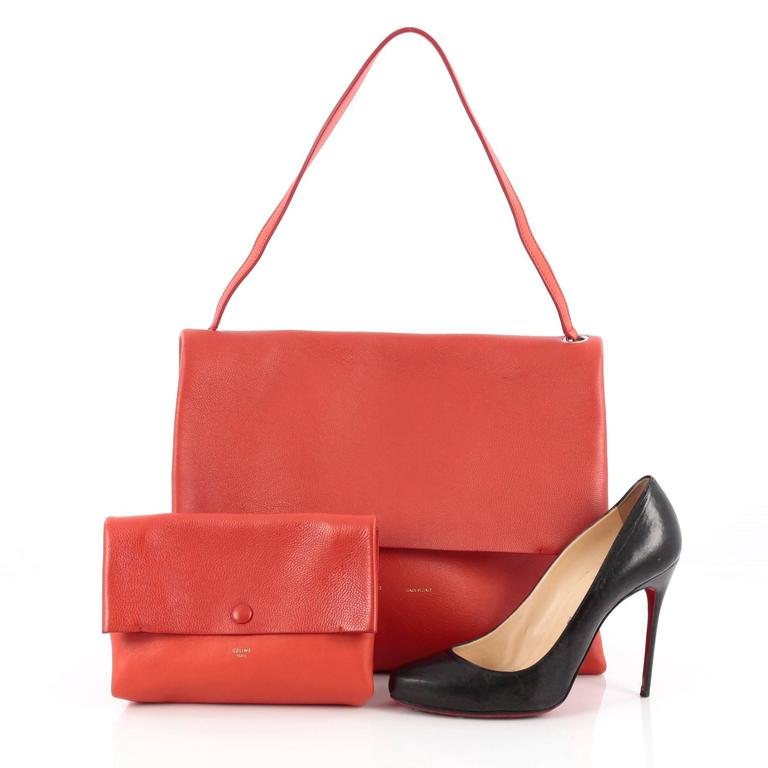 Celine All Soft Tote Leather 2