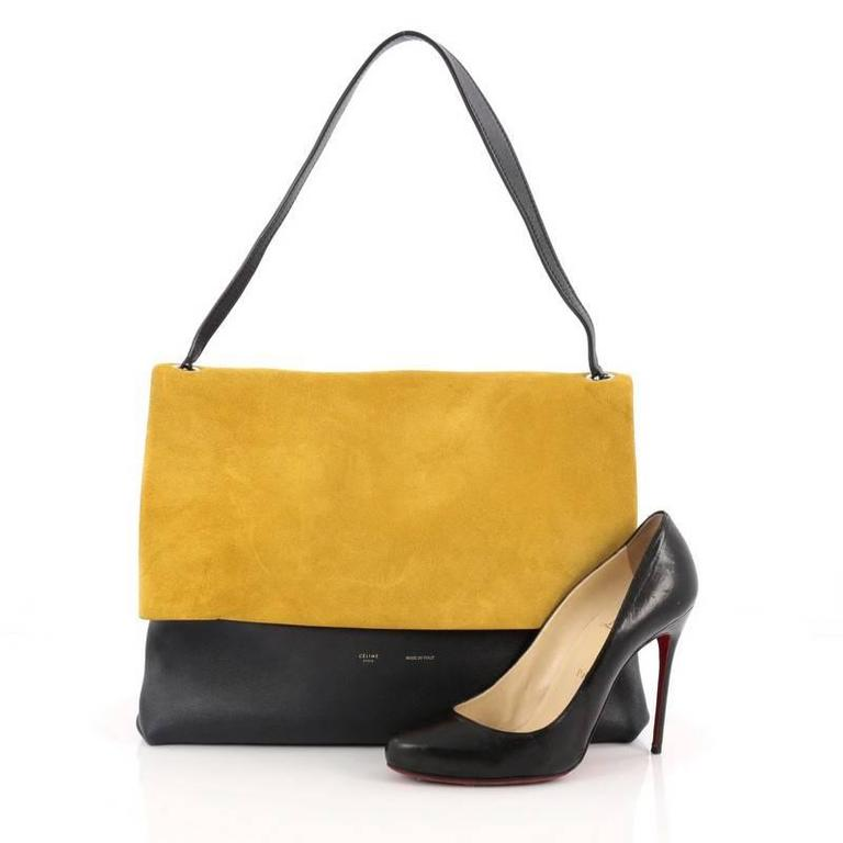 Celine All Soft Tote Suede 2
