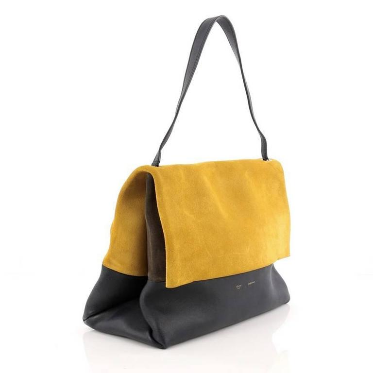Celine All Soft Tote Suede 3