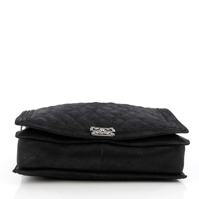 3579b3124b19 Chanel Boy Flap Bag Gentle Quilted Goatskin XL at 1stdibs