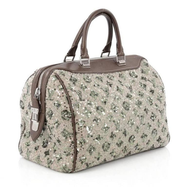 e21baf4c3a0c Gray Louis Vuitton Speedy Handbag Limited Edition Sunshine Express 30 For  Sale