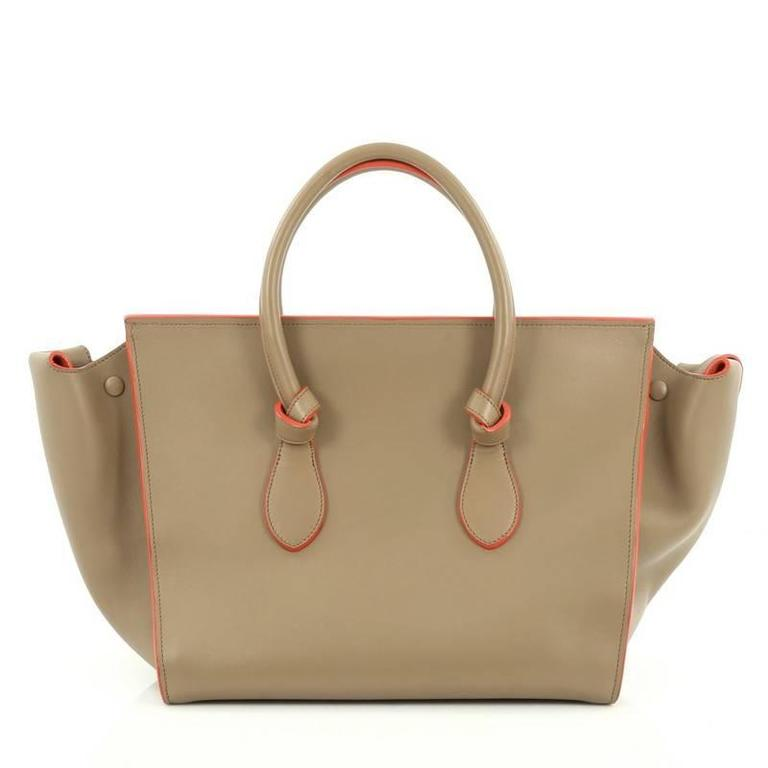 Celine Tie Knot Tote Smooth Leather Large 4