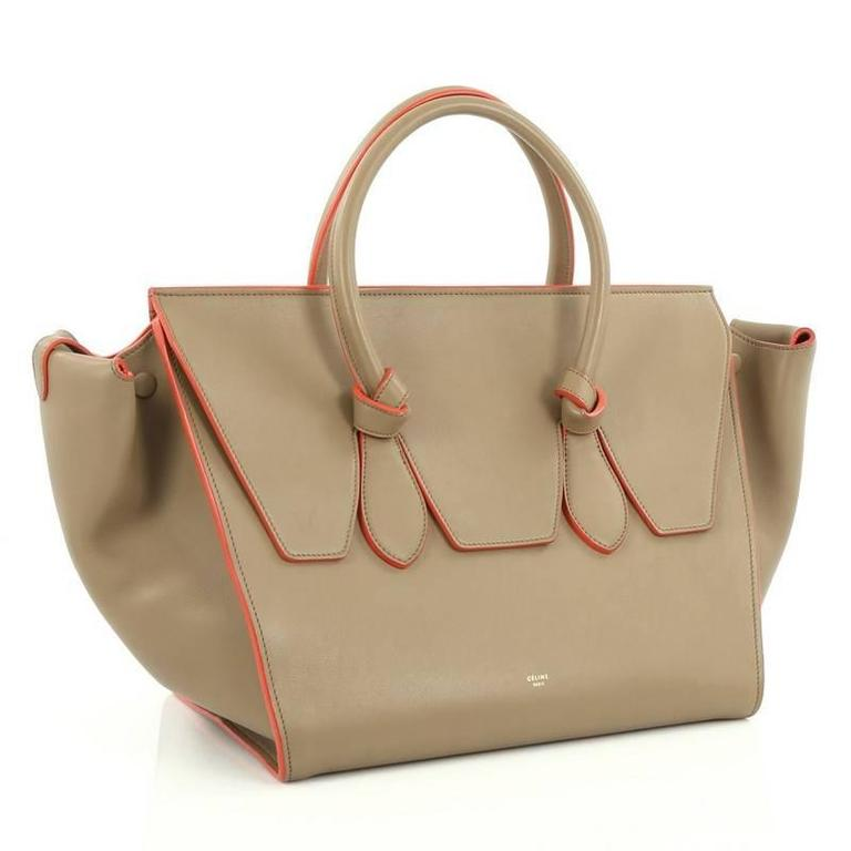 Celine Tie Knot Tote Smooth Leather Large 3
