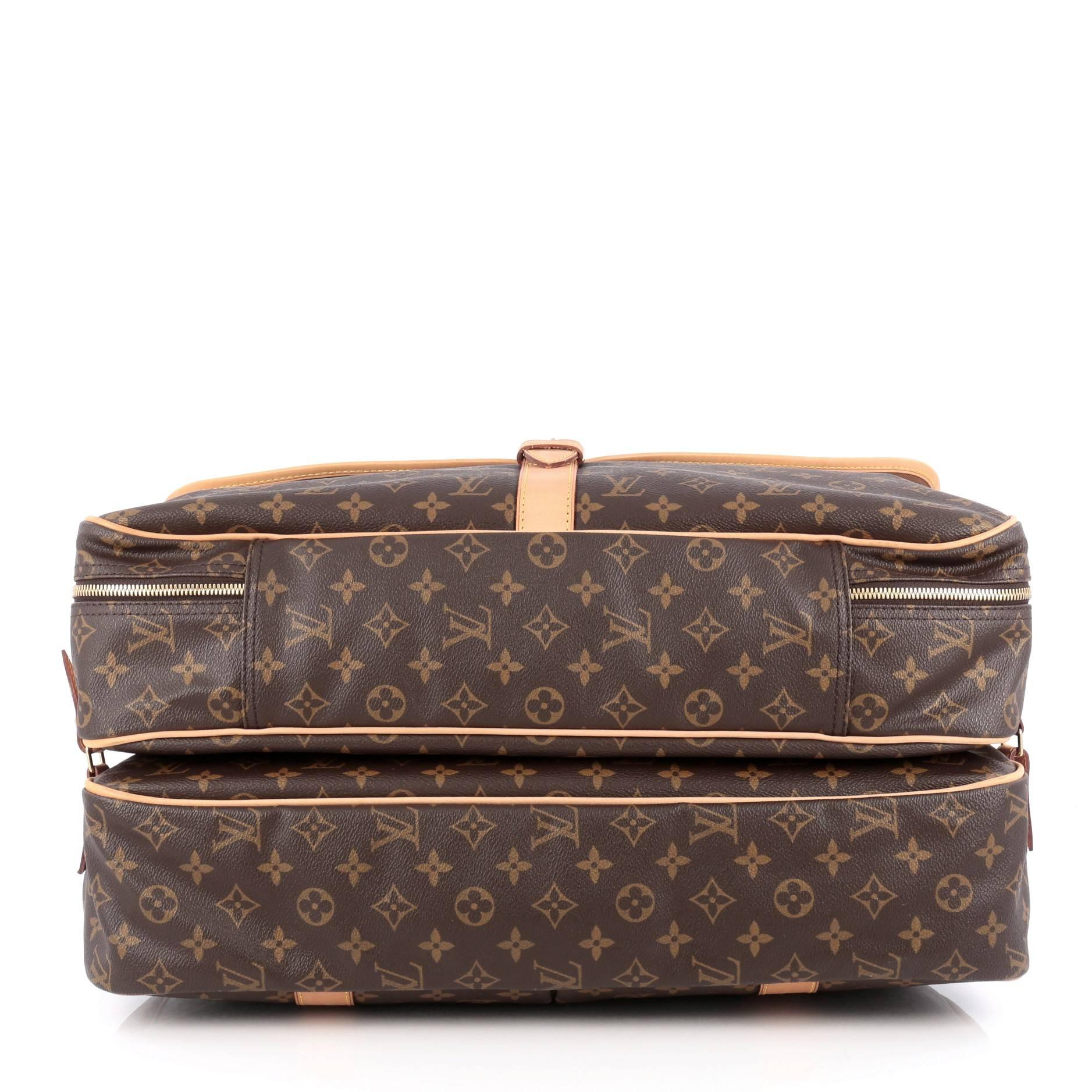 83ae29e29ab Louis Vuitton Sac Chasse Hunting Bag Monogram Canvas at 1stdibs