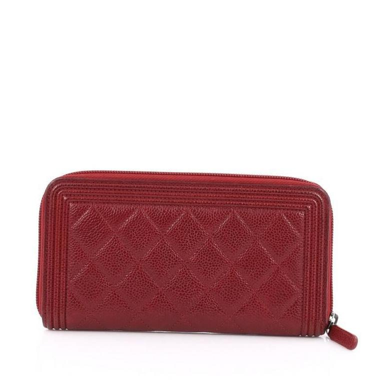 b2d2d5186a8625 Chanel Boy Long Wallet Caviar   Stanford Center for Opportunity ...
