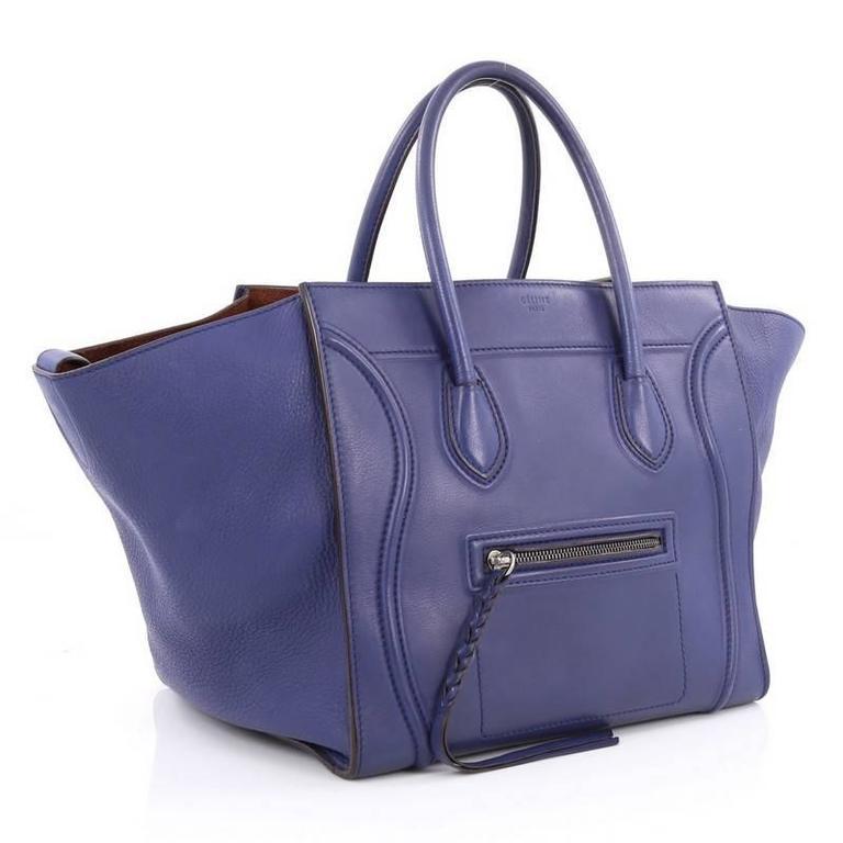 Celine Phantom Handbag Smooth Leather Medium 3
