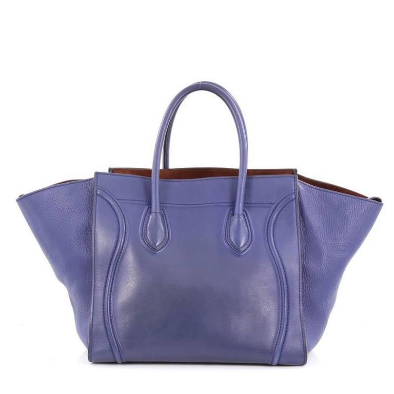 Celine Phantom Handbag Smooth Leather Medium 4