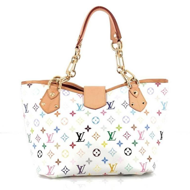 Louis Vuitton Annie Handbag Monogram Multicolor Gm In Good Condition For New York