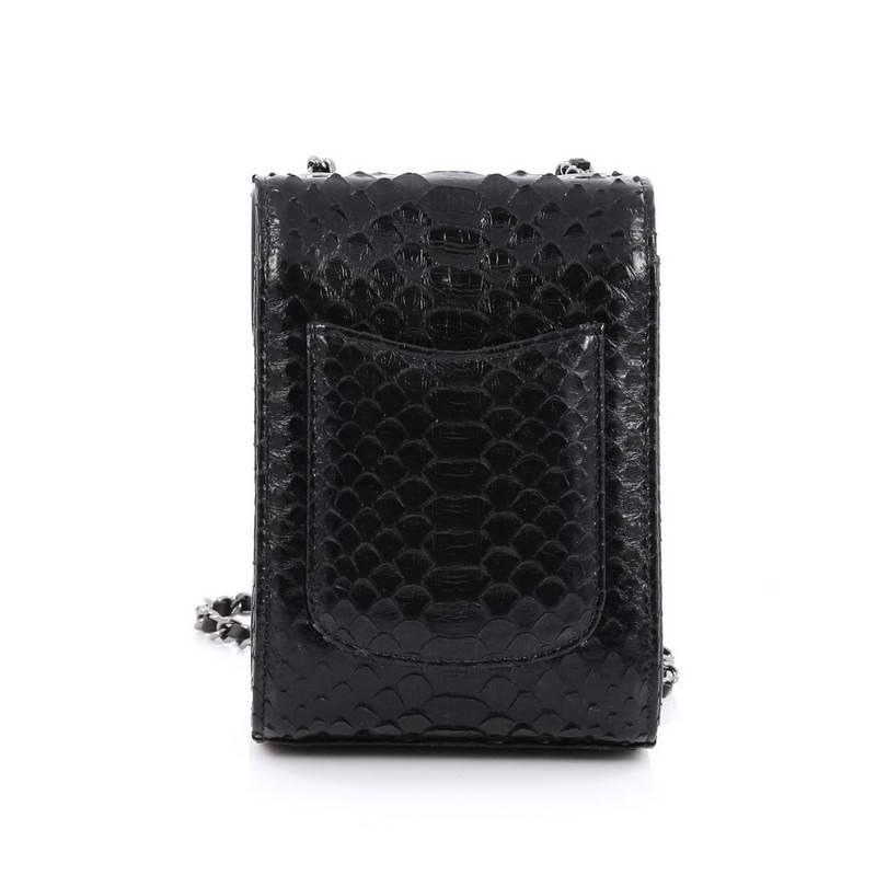 449eb498a1ec Chanel Wallet on Chain Python Extra Mini at 1stdibs