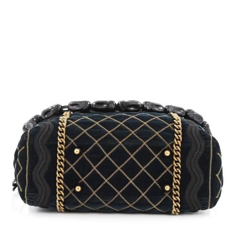 Women s or Men s Saint Laurent Sac Luxembourg Bag Quilted Velvet Medium For  Sale 935102ca02