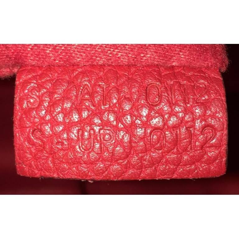 Celine Luggage Handbag Grainy Leather Mini 9