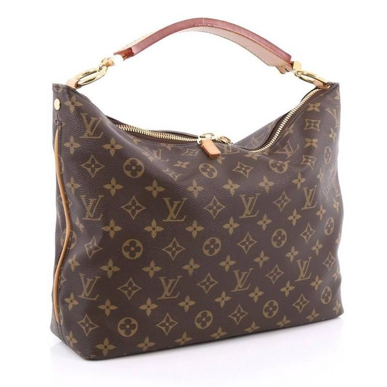 Black Louis Vuitton Sully Handbag Monogram Canvas PM For Sale 667aa679e8ab5