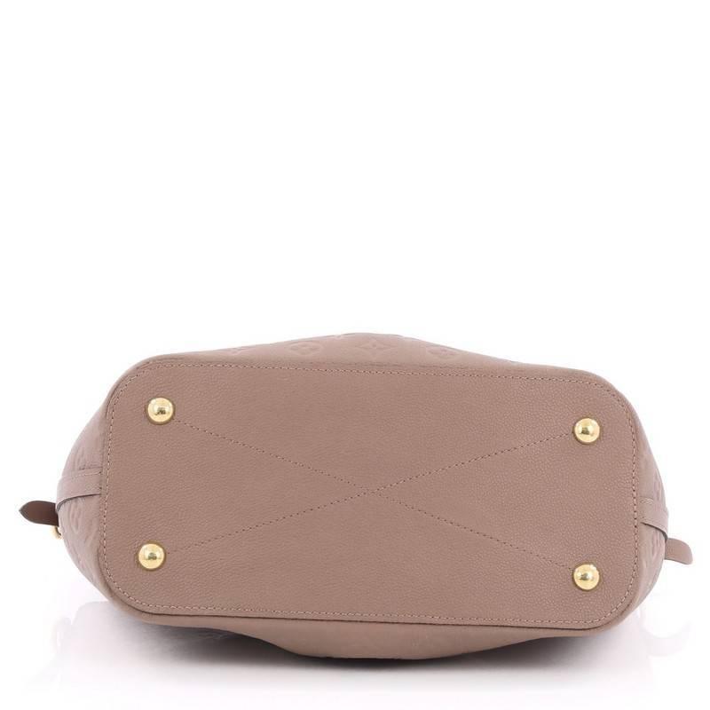 d3a260309239 Louis Vuitton Mazarine Handbag Monogram Empreinte Leather MM at 1stdibs