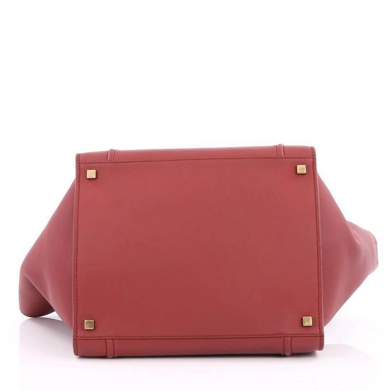 Celine Phantom Handbag Grainy Leather Medium 5