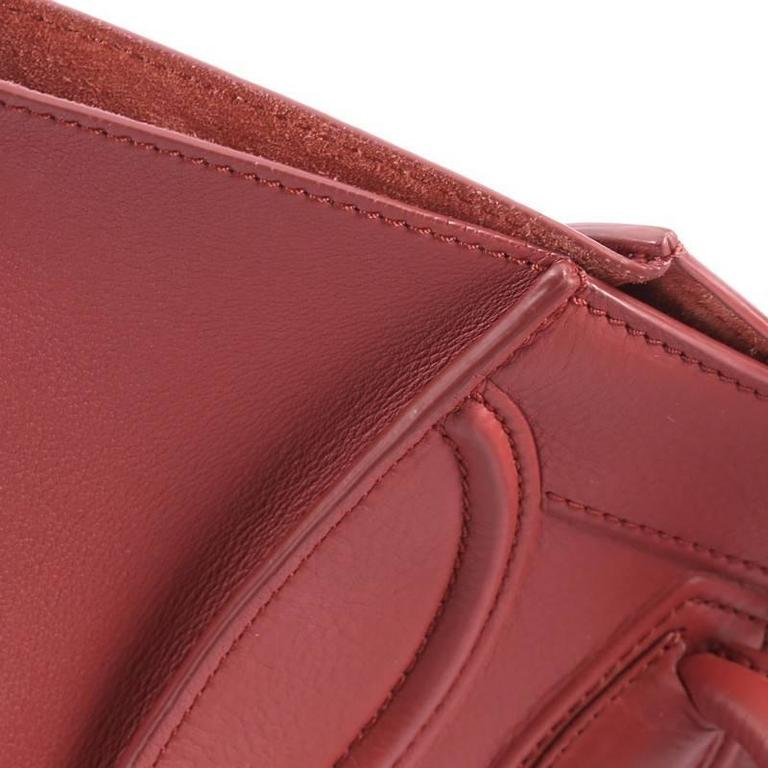 Celine Phantom Handbag Grainy Leather Medium For Sale 3