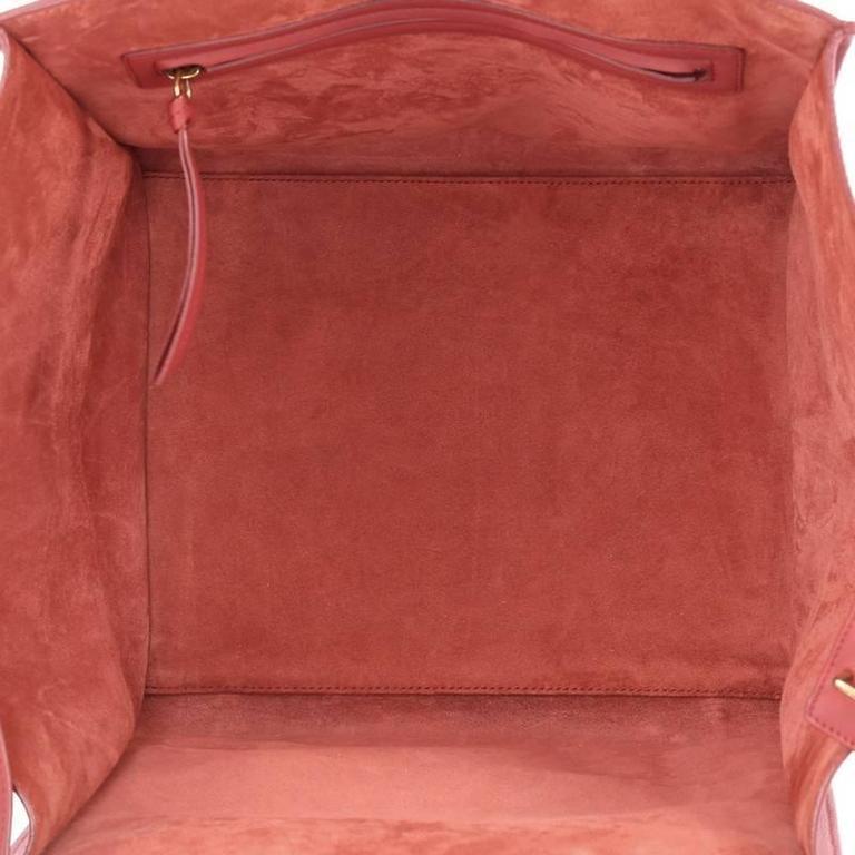 Celine Phantom Handbag Grainy Leather Medium For Sale 1