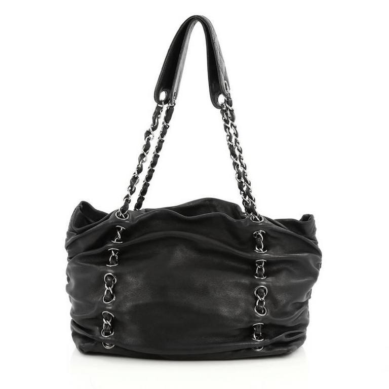 c580c94c222d Chanel Timeless Sharpei Tote Lambskin Large In Good Condition For Sale In  New York, NY