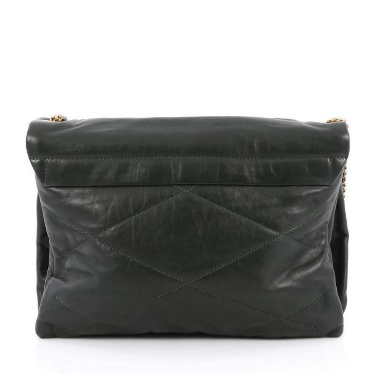 Lanvin Sugar Flap Shoulder Bag Quilted Leather Medium At