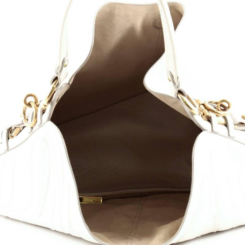 c860882a3c6 Salvatore Ferragamo Fergie Hobo Embroidered Leather at 1stdibs