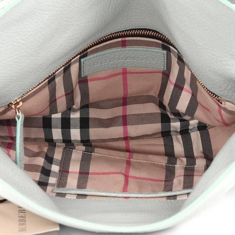 f4780bc8cf55 Burberry Leah Crossbody Bag Pebbled Leather Small at 1stdibs