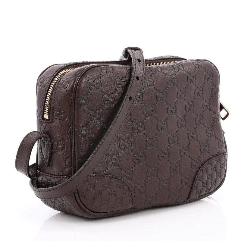 26c0540c613e Gucci Bree Disco Crossbody Bag Guccissima Leather Mini at 1stdibs
