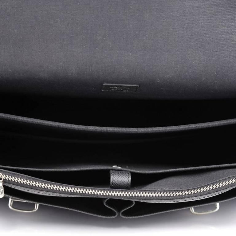 33257819d5 Louis Vuitton Anton Briefcase Taiga Leather