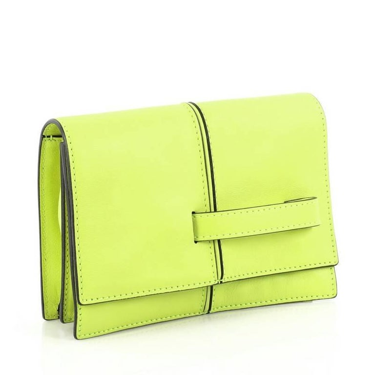 Yellow Valentino My Own Code Clutch Leather For Sale
