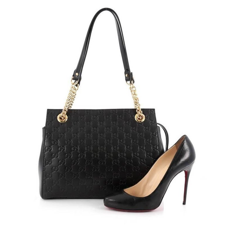 8184d41ad736d2 Gucci Guccissima Signature Handbag | Stanford Center for Opportunity ...