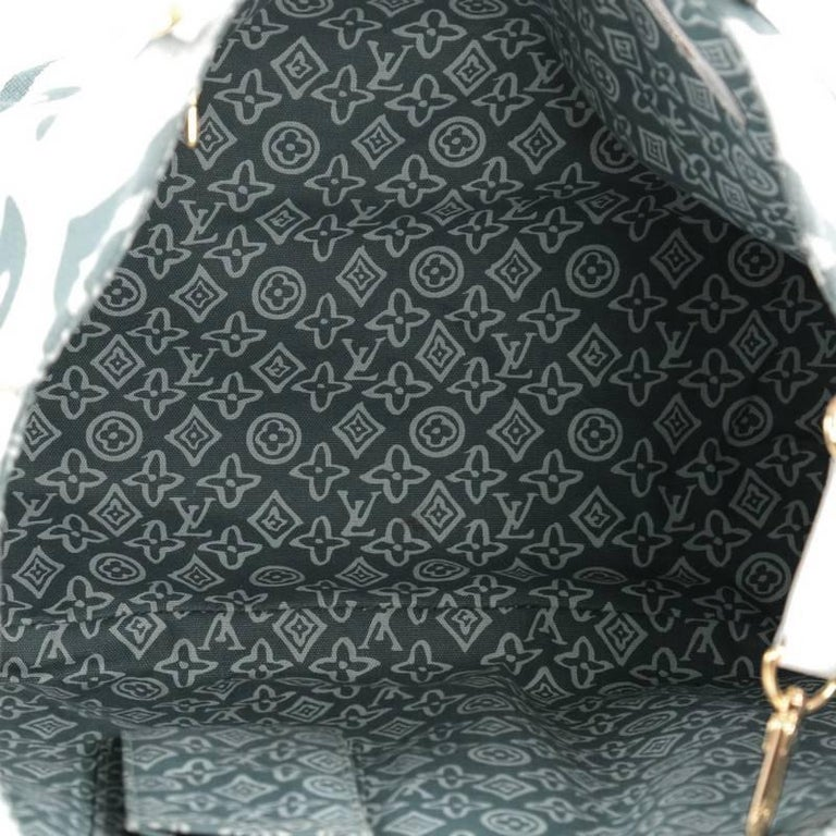 louis vuitton tahitienne cabas canvas pm at 1stdibs