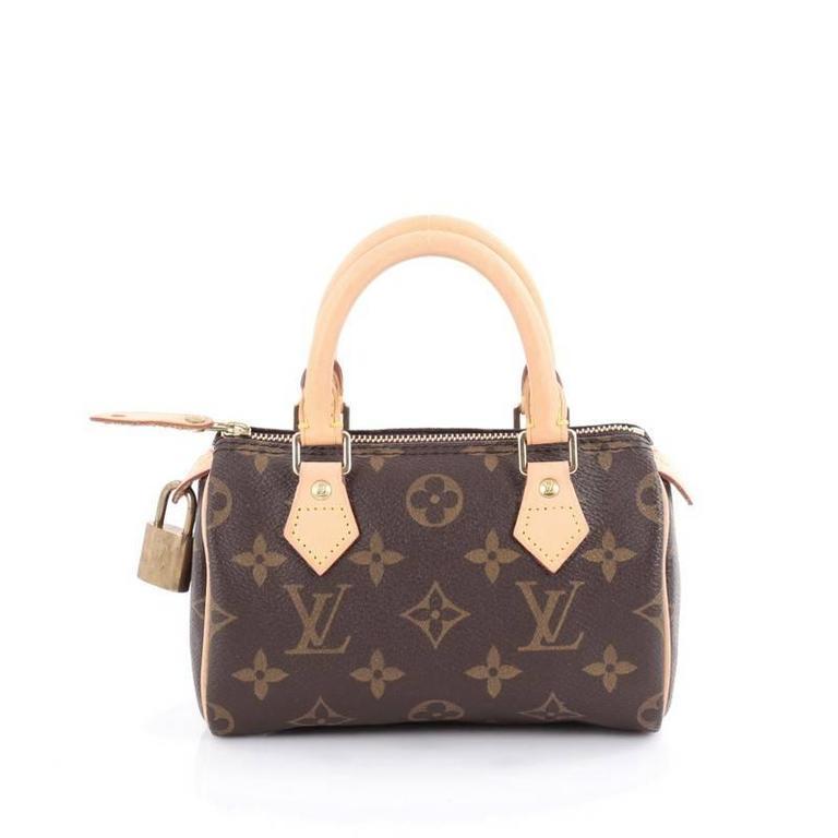 48da8c8a39588 Louis Vuitton Speedy Mini HL Handbag Monogram Canvas at 1stdibs