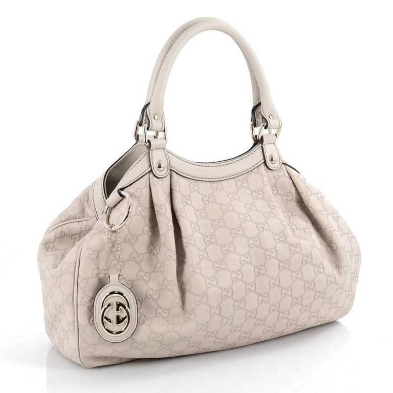41f7d5dcd83b Beige Gucci Sukey Tote Guccissima Leather Medium For Sale