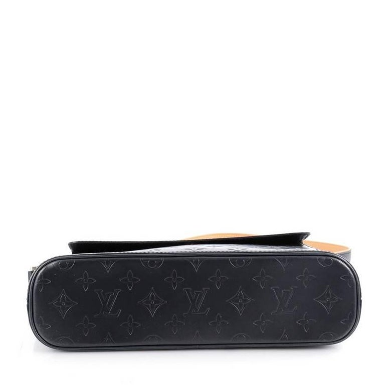 louis vuitton mat allston handbag monogram vernis at 1stdibs. Black Bedroom Furniture Sets. Home Design Ideas