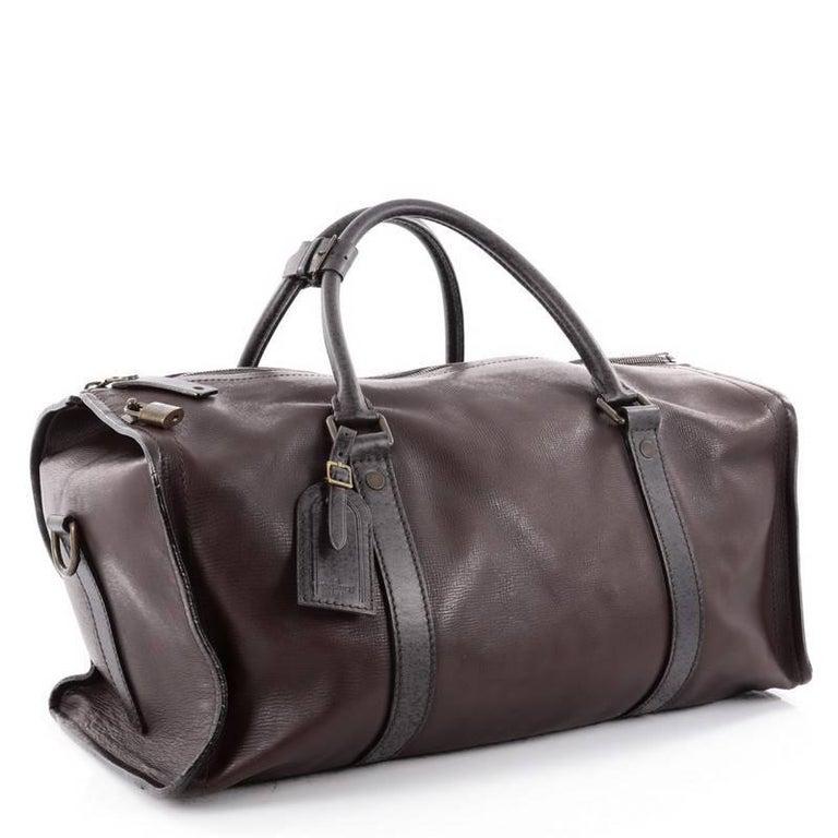 bd7a40b0a6dd Black Louis Vuitton Commanche Handbag Utah Leather For Sale