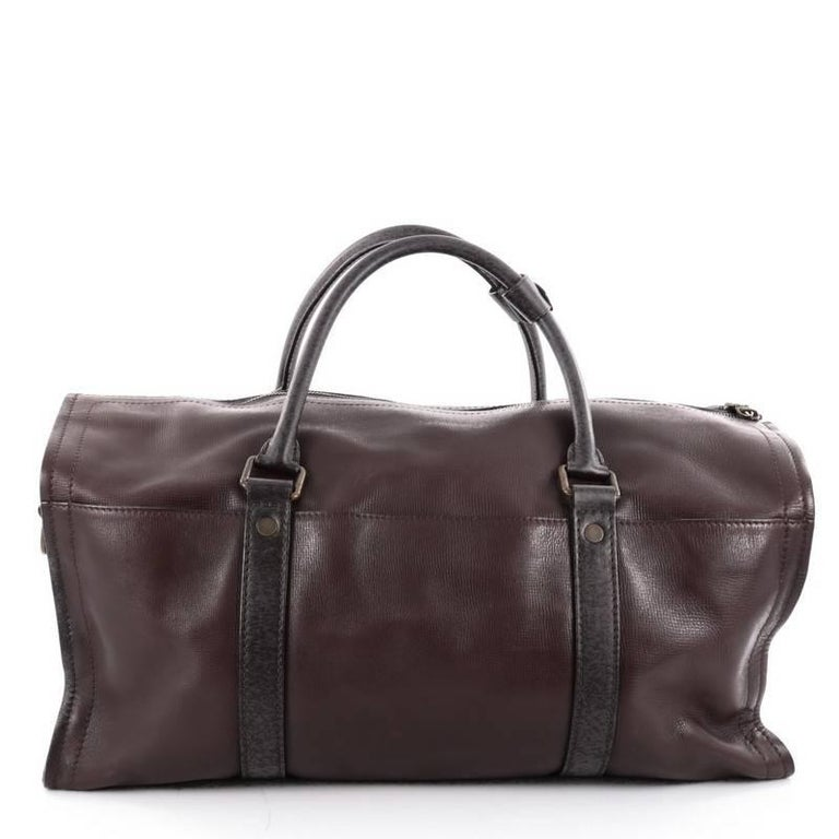 3af9f4cca5a6 Louis Vuitton Commanche Handbag Utah Leather In Good Condition For Sale In  New York