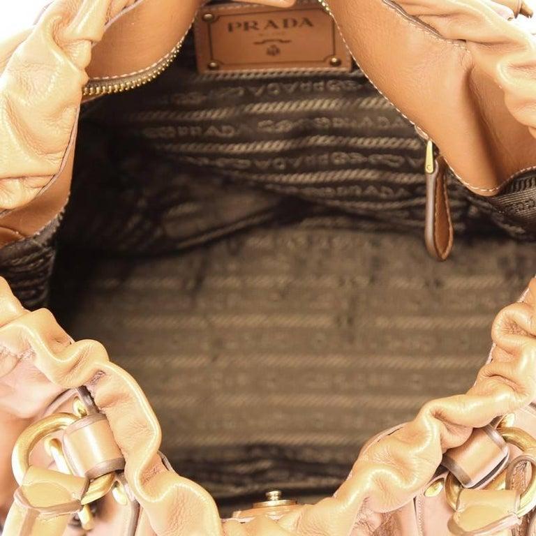 Prada Convertible Belted Satchel Cervo Antik Leather Medium 1