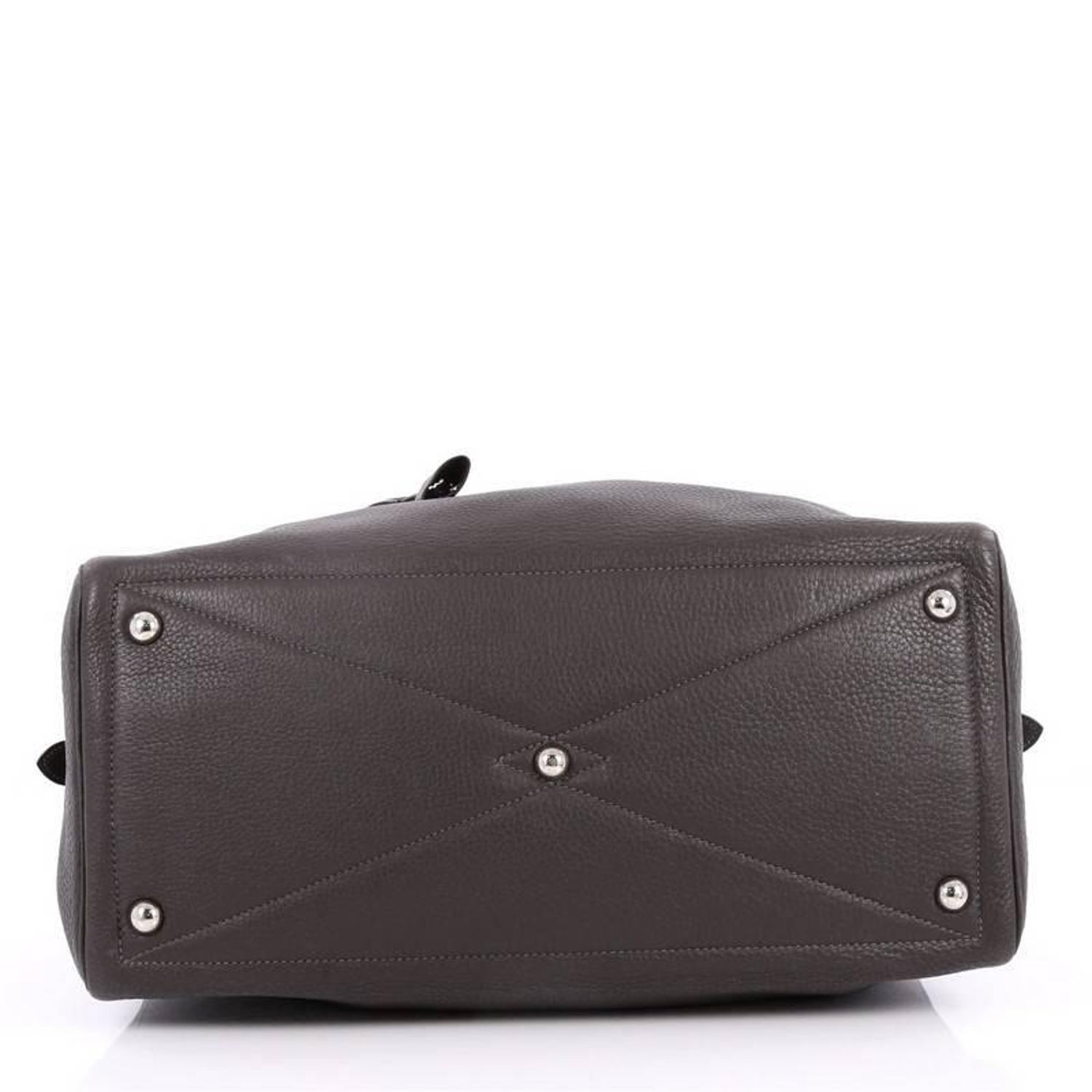 7ca6d36a7118 Hermes Victoria Travel Bag Clemence 43 at 1stdibs