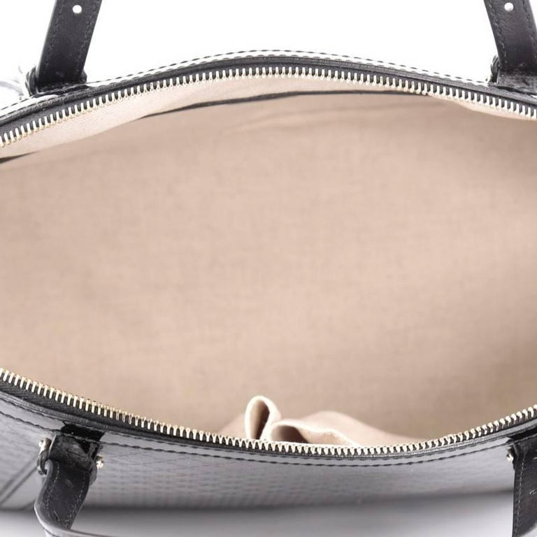 733fef42baff Gucci Nice Top Handle Bag Patent Microguccissima Leather Medium For Sale 1